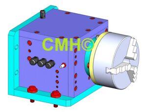 Bauplan CNC-Rundtisch / 4.-Achse