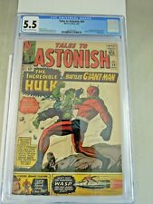 Tales to Astonish #59 1964 1st Appearance Hulk in Title • CGC 5.5