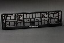 2 x Mercedes Euro License Plate Frame