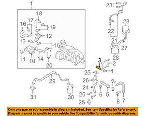 VW VOLKSWAGEN OEM 07-17 Touareg 3.6L-V6-Exhaust Manifold Stud N0445203