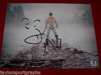 WWE STAR THE MIZ SIGNED MONEY IN THE BANK 8X10 WRESTLING PHOTO GLOBAL CERTIFIED