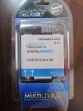 New Digital Energy Desktop Li-Ion Battery Kit for HTC evo 3D, Sensation 230-1350