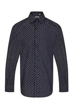 Mens Paisley Shirts Mod Scooter Button Down Regular Fit