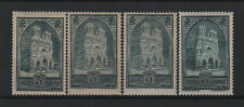 """FRANCE STAMP YVERT N° 259/259c """" CATHEDRALE REIMS 3F 4 TYPES"""" NEUFS xx TTB  T541"""
