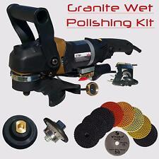 Stadea Granite Polishing Bullnose Tools Kit for Granite Countertop Demi Edge 3/8