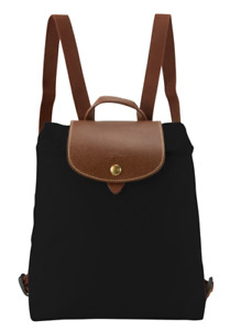 Longchamp Le Pliage Nylon Backpack Authentic new black red taupe navy blue