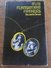 TWO FLAMBOYANT FATHERS by Nicolette Devas Autobiography 1968 DJ Readers Union