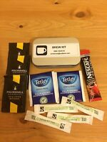 Ration Pack Brew Kit Tea, Coffee, Army Military Fishing Survival Bug Out Bag