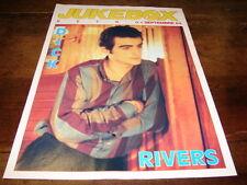 DICK RIVERS - Mini poster couleurs !!!!!!! 1 !!!!JUKEBOX !!!!!!!!!!!!!!