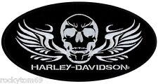 2XL HARLEY MOTORCYCLE VEST PATCH SOLDIER SKULL EM1025006 RETIRED!!