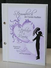Stammbuch der Familie A5 zum Gästebuch Romance Hochzeit Geschenk A4 Geldgeschenk