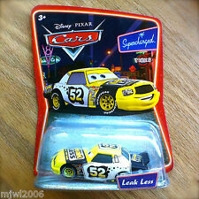Disney PIXAR Cars LEAK LESS Supercharged diecast PISTON CUP RACER Leakless 52