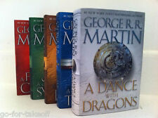 Game of Thrones Song of Ice and Fire Complete Hardcover Set - George R.R. Martin