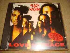BLACK MACHINE - Love 'N' Peace