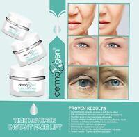 Suero de ácido hialurónico con vitamina C para estiramiento facial instantáneo