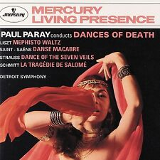 PARAY/DETROIT SO - DANCES OF DEATH  CD NEUF LISZT,FRANZ/+