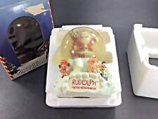 2003 ~ RUDOLPH The RED-NOSED REINDEER Snowglobe Bank w/ Box