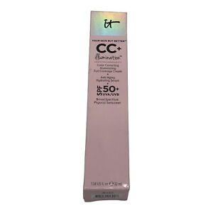 IT Cosmetics CC+ Illumination Color Correcting Cream SPF 50 LIGHT New *EXPIRED*