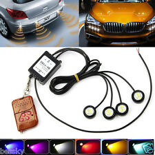4x1.5W Strobe Flash Eagle Eye SMD LED Car Light Lamp+Wireless Remote Control New
