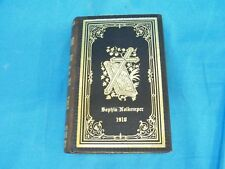 Vintage 1910 German Church Hymn Book Evangelilches Gelangbuch