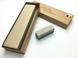 """Sharpening Stone Yellow Belgium Whetstone """"Belgischer Brocken"""" Coticule 150x40mm"""