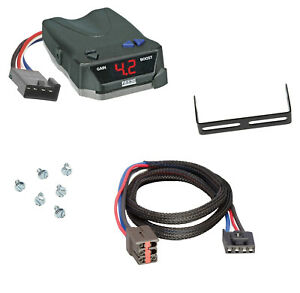 Trailer Brake Control for 03-05 Lincoln Aviator w/ Wiring Module Box 1-4 Axle