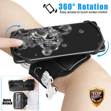 360° Rotatable Phone Armband Earphone Holder Jogging Sports Running Gym Exercise