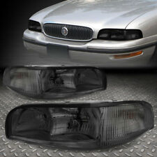 For 1997 1999 Buick Lesabre Smoked Housing Headlight Clear Side Turn Signal Lamp Fits 1998