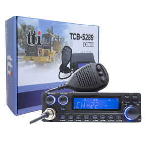 Radio CB TTI TCB-5289 Anytone, communication entre voitures - camions
