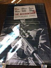The Accountant 5X8' Feet Vinyl Movie Poster Banner