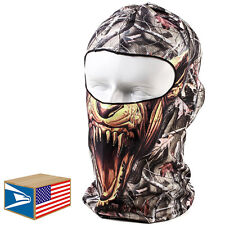 BALACLAVA FACE MASK Skull Fangs Real Tree Camouflage HUNTING MILITARY HAT CAP!