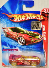HOT WHEELS 2010 RACE WORLD NERVE HAMMER #01/04 RED FACTORY SEALED W+