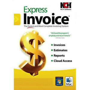 NCH Express Invoice Plus ! PC/Mac Free Shipping!