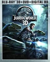 Jurassic World 3D (Blu-ray 3D + Blu-ray Blu-ray