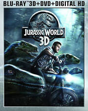 Jurassic World 2D + 3D Blu-ray + DVD + Digital Copy Code