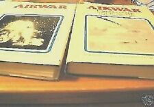 SET 2 large books Airwars WWII AirWar Warfare Pearl Harbor Guadalcanal Photos