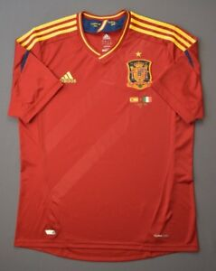 Spain Jersey Team Signatured 2012 2013 Home L Shirt Mens Camiseta Adidas ig93