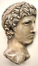 3 D Greek Roman Art Face Reproduction Fragment of Athena Statue Art Sculpture