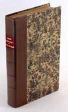 Fine Leather Anthropology First Edition 1888 Haus und Hof Friedrich von Hellwald