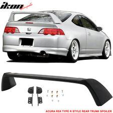 Fits 02-06 Acura RSX DC5 Type R TR Style Rear Trunk Spoiler Unpainted - ABS