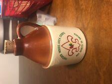 Vintage Boy Scout Thatcher Woods signed Richard G Walker BSA mug jug crock USA