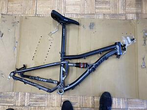 "2011 Jamis Dakar Xct 1 13"" Full Sus Frame Kit Disc Brake Ritchey WTB 26""wheel"
