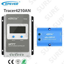 EPEVER Tracer 4210AN 40A MPPT Solar Charge Controller+APP mobile phone WIFI BOX