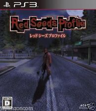 Used PS3 Red Seeds Profile SONY PLAYSTATION 3 JAPAN JAPANESE IMPORT
