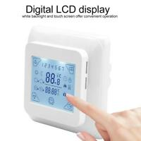 LCD Digital Woche Programmierbar Fußbodenheizung Temperaturregler Thermostat