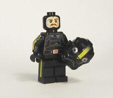 Custom Vult Skerris minifigures Tie Fighter Pilot Star Wars on lego bricks