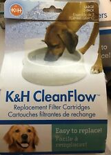 K&H CLEANFLOW REPLACEMENT FILTER CARTRIDGES LARGE  (3 PACK)   DOG BOWL FILTERS