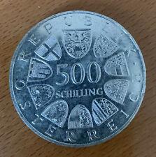 500 Schilling Silbermünze : 2000 Jahre Bregenz, 1985