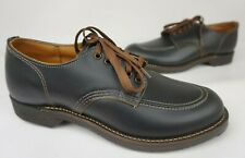 Red Wing 8070 1930's Sport Oxford Men's Black Klondike Prairie Shoes Size 8 D