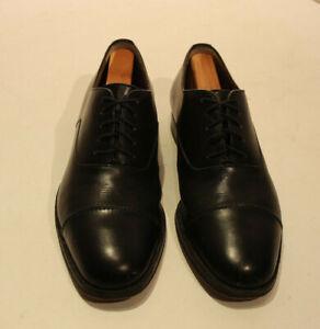 Cole Haan Black Leather Wingtip 12561 size 8.5M